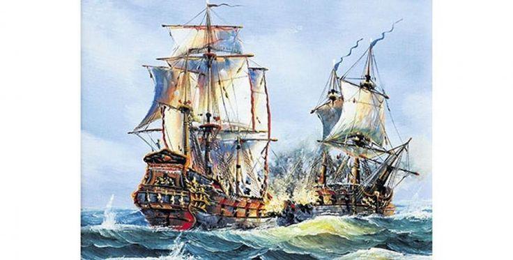 Galeón San José. Con el barco de madera, se fue a pique el tesoro más grande que la Corona de España se llevaba en un solo envío
