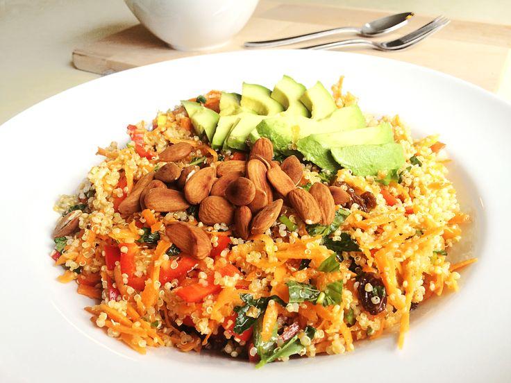 spiced quinoa recipe quinoa salad with avocado quinoa salad knives ...