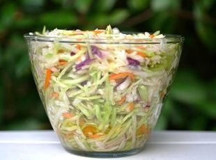 Marinated Cold Slaw Recipe | Just A Pinch Recipes