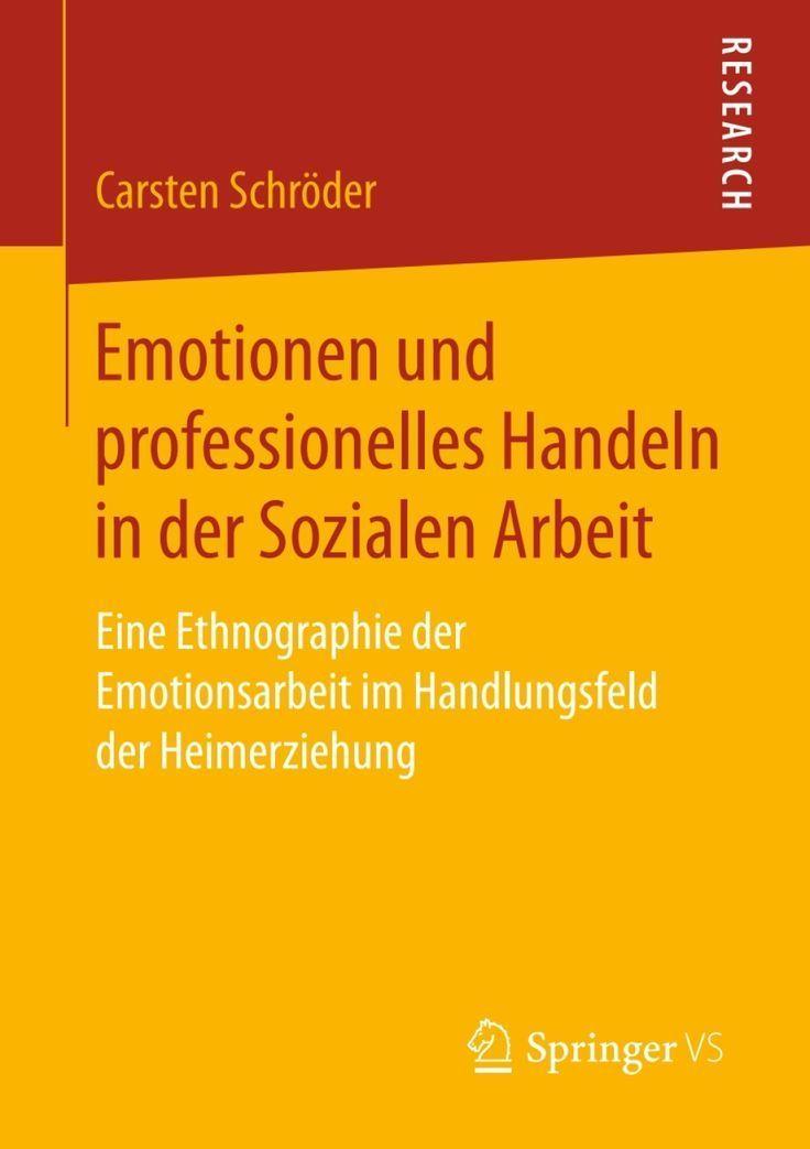 Emotionen und professionelles Handeln in der Sozialen Arbeit (eBook) – –