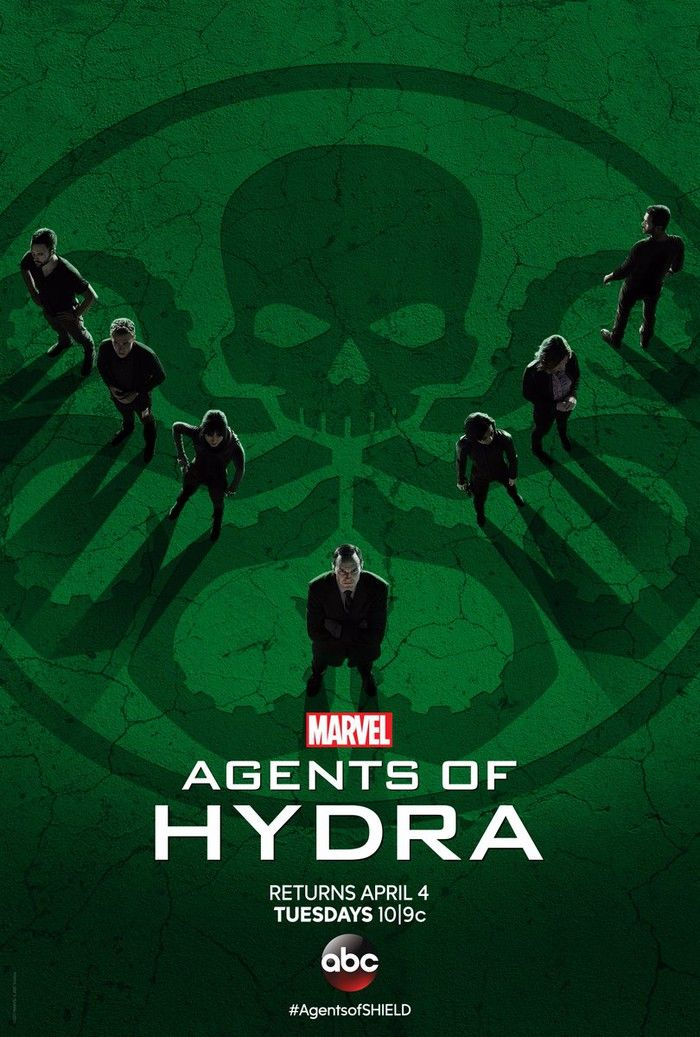 New Posters Ask What If Agents Of SHIELD Was Agents Of HYDRA