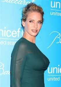 Uma Thurmanat the UNICEF Snowflake Ball #tallwomenwhoinspire