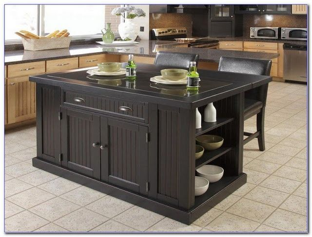 inexpensive kitchen islands with seating and wood black colors ideas pictures modern kitchen on kitchen island ideas cheap id=99474