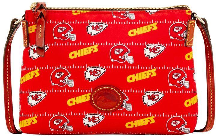 Dooney & Bourke NFL Chiefs Crossbody Pouchette Shoulder Bag