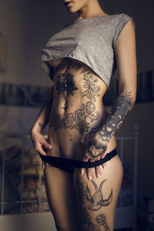 Quand Tatouage et Sexy ne font qu'une... #Photo #Erotisme #BonjourMadame