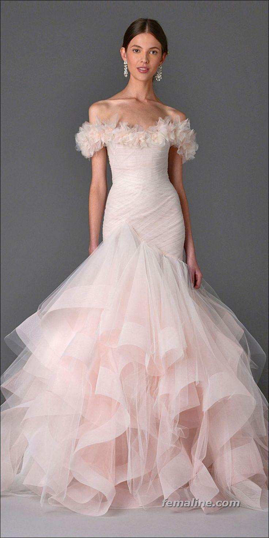 Amazing spring wedding dresses