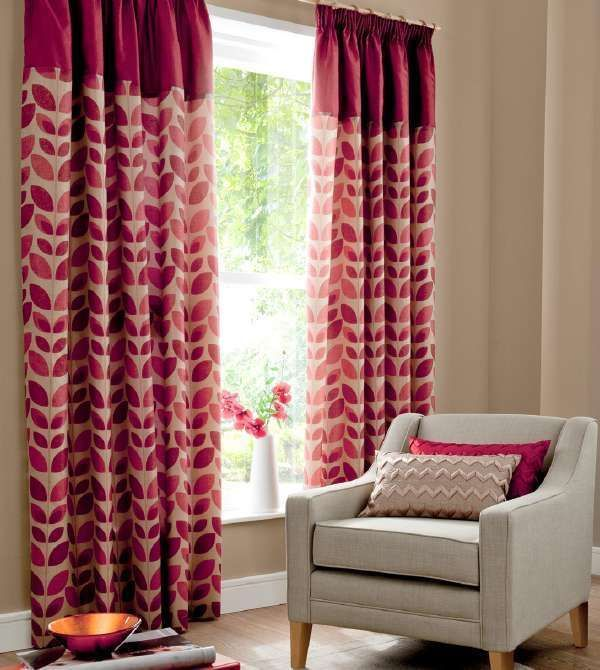 Red Curtains beige red curtains : 17 best ideas about Beige Pencil Pleat Curtains on Pinterest ...