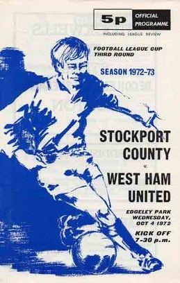 Stockport County v West Ham United