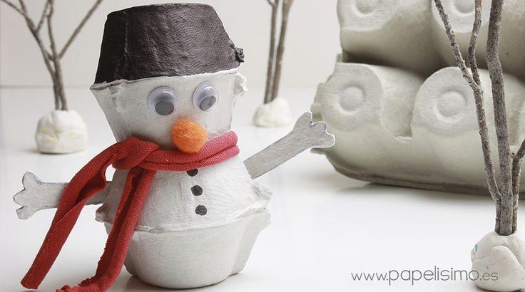 #muñecode nieve