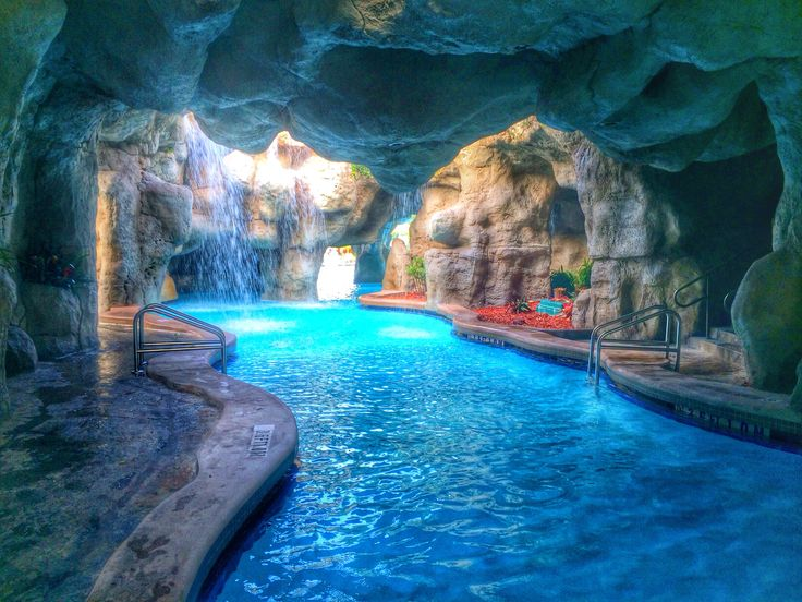 Indoor pool grotte  Inside Pool Cave - Interior Design