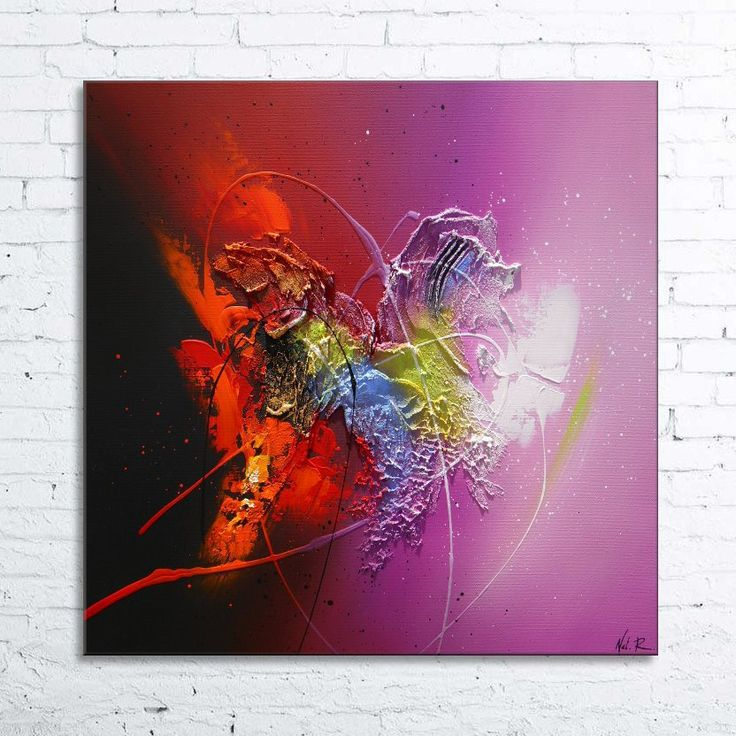1110 best Peinture images on Pinterest Abstract art, Abstract - peinture epaisse pour mur