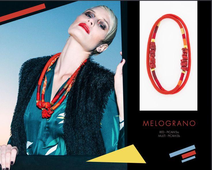 Melograno Neckpiece, Buy online www.pichulik.com/shop