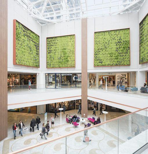 Le centre commercial Saint Sébastien à Nancy a fait peau neuve - Actualité : Distribution (#696540)