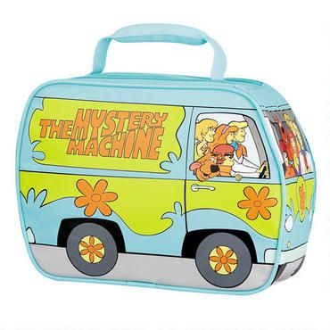 Scooby-Doo Mystery Machine Soft Thermos Lunch Box