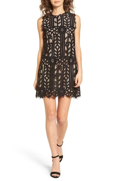 Main Image - Speechless Lace Shift Dress