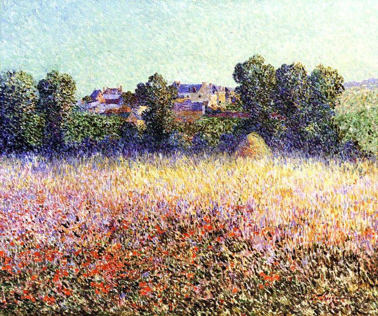 Field of Poppies in Flower (Ferdinand du Puigaudeau - )