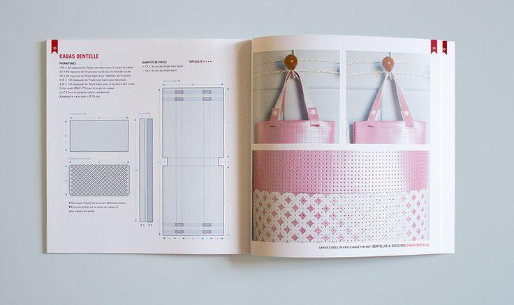 Cahier d'idées 5 / Dentelles & Découpes / Objets et accessoires à réaliser avec le Vinyle Laqué Perforé®