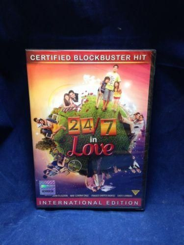 24/7 In Love Angelica Panganiban,Bea Alonzo,John Lloyd Cruz pinoy DVD