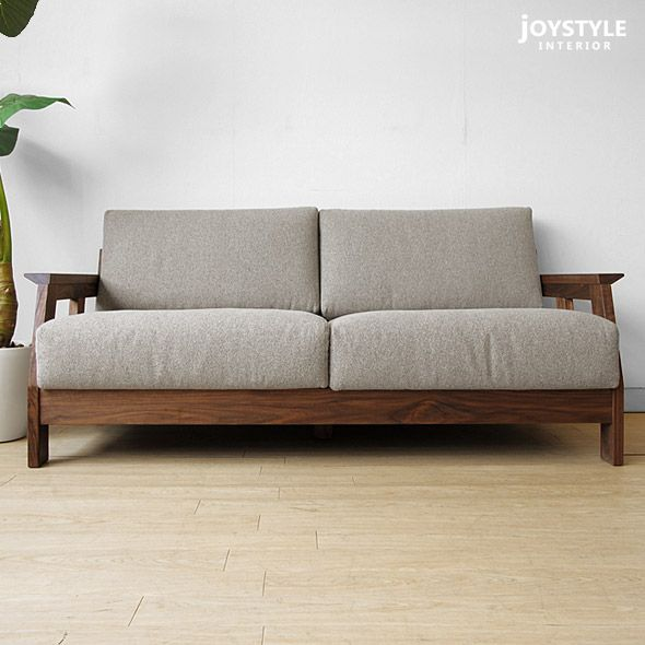 Fabric Sofa With Wooden Frame Google Search Chair With Fabric Pinterest Fabric Sofa