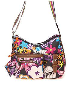 Lily Bloom Crossbody Hobo Bag. Just bought it. LOVE it. (made from recycled plastic bottles too)