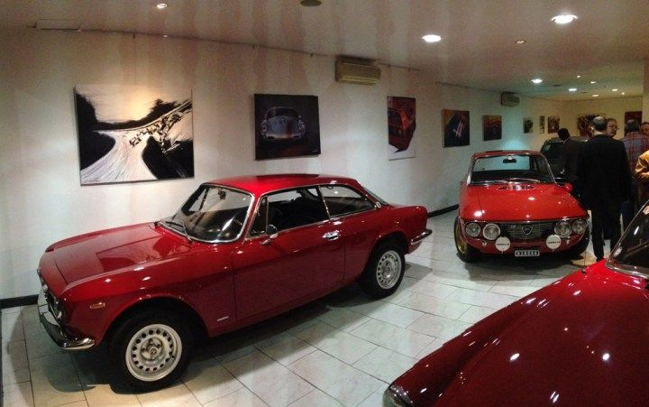Auto Arte: galería de clásicos y diseñadores en Palermo Hollywood