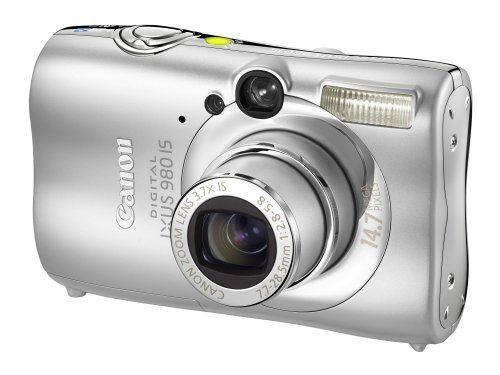 14 MP compact digital camera with 2.5 inch lcd screen 4x optical zoom and 4x digital zoom Optical image stabilisation Movie recording mode with sound Built in flash
