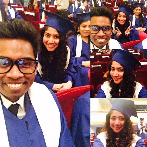 #Premam fame #SaiPallavi graduated as a Doctor. Congrats Dr.#Malar !!