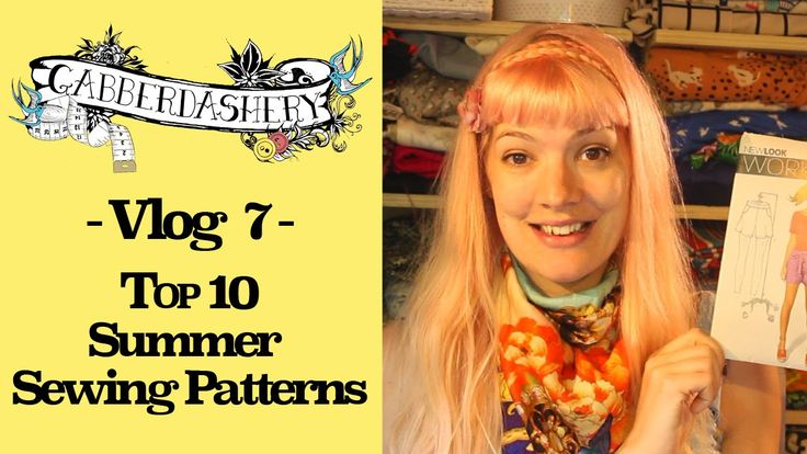 Vlog 7 - Top 10 Sewing Patterns for Summer