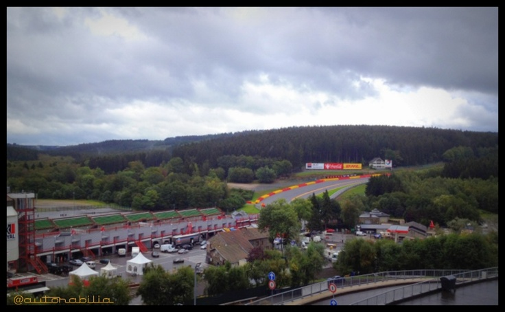 Panoramic view from the Brasserie..