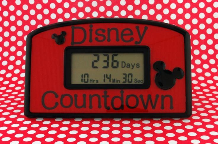 Disney vacation countdown clock disney countdown disney