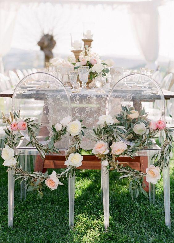 Wedding reception idea; Featured Photographer: Jose Villa