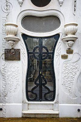 Tomb door, Buenos Aires, Argentina by Juliegirl5