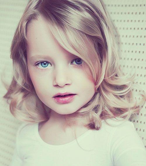 Hairstyles For Kids Sweet Hairstyles And Wavy Haircuts On