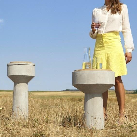 "Table d'appoint ""Watertower at home"" de Xiral Segard sur now! le off #pdw12"