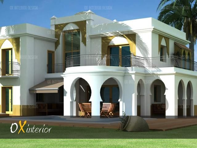 Villa Design Dubai (640×480) | Arabian Homes | Pinterest | House  Elevation, House And Architecture