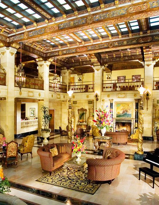 The Historic Davenport Hotel — Spokane, Washington