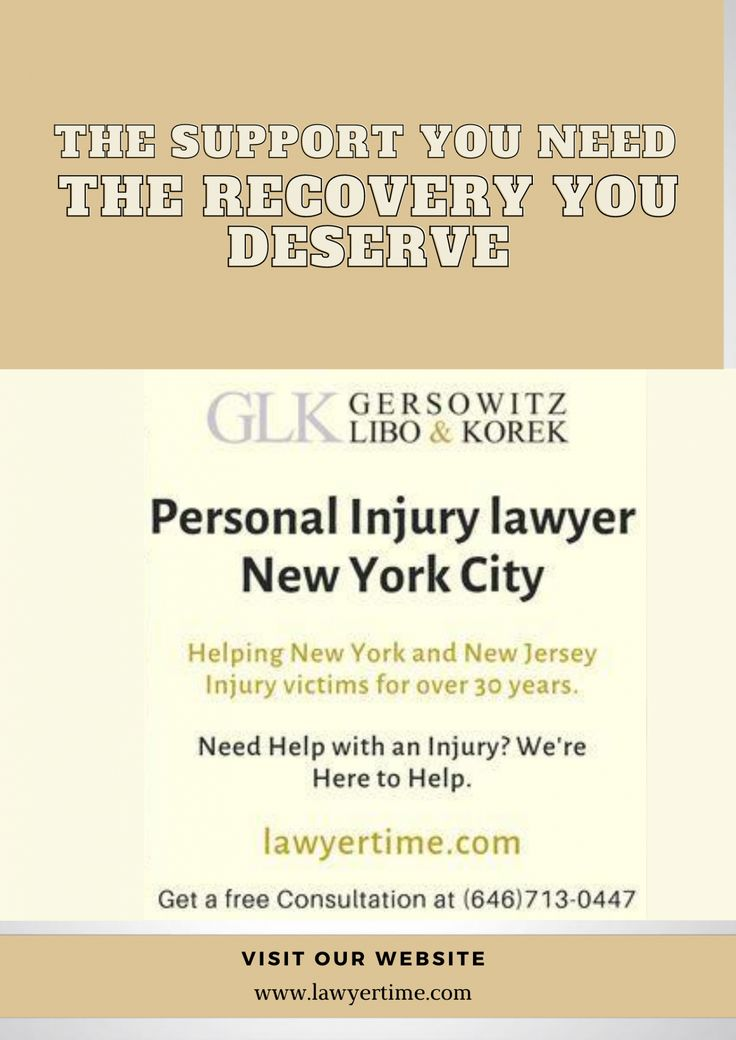 Best personal Injury Lawyer New York City in 2020 Injury