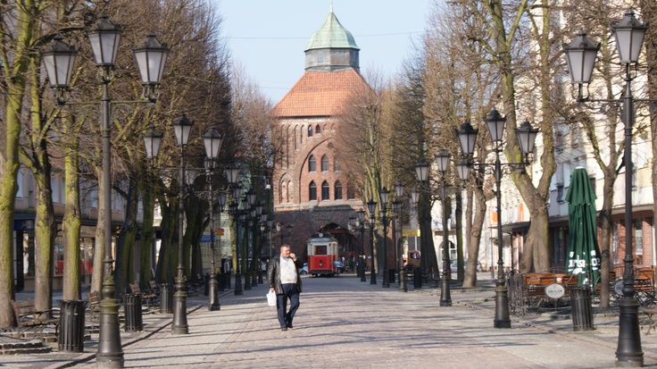 Stare Miasto Słupsk.