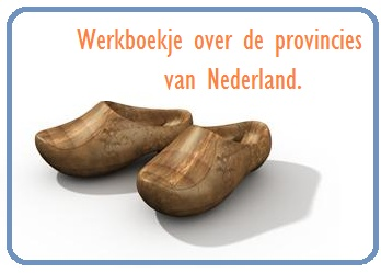 Werkboekje provincies Nederland - KlasvanjufLinda.nl - vol met leuke lesideeën en lesidee