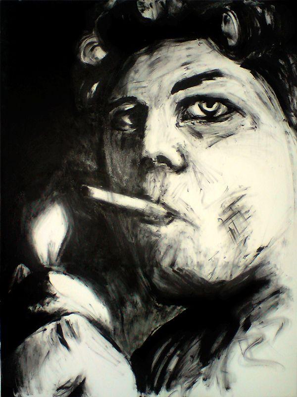 'Drag Queen' · 90x120cm · acrylic on canvas · © Sander Van Stijn · 2012