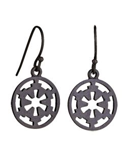 Imperial Logo Earrings. Perfect subtle addition to any geek girl's outfit.