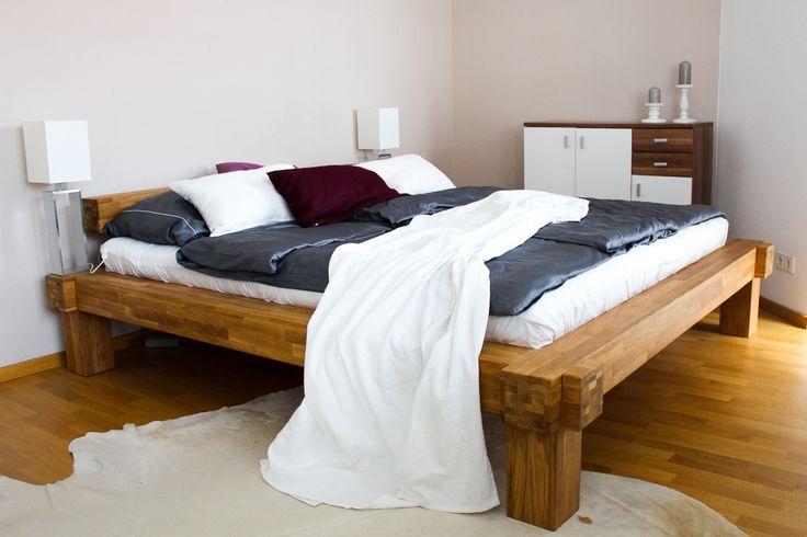 Die besten 17 ideen zu holzbett auf pinterest holzbett - Einrichtung schlafzimmer modern ...