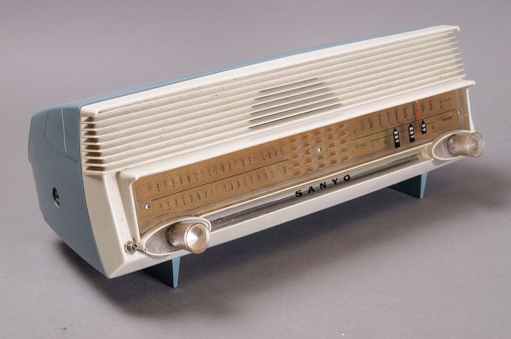Radio, SANYO, 1950-luku