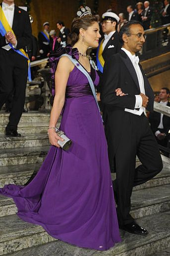 Kronprinsessan Victoria, Nobel 2009.