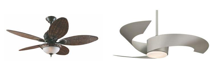 Ventiladores de teto ganham design moderno e cores - BBel :: Tudo sobre decoração e organização da sua casa