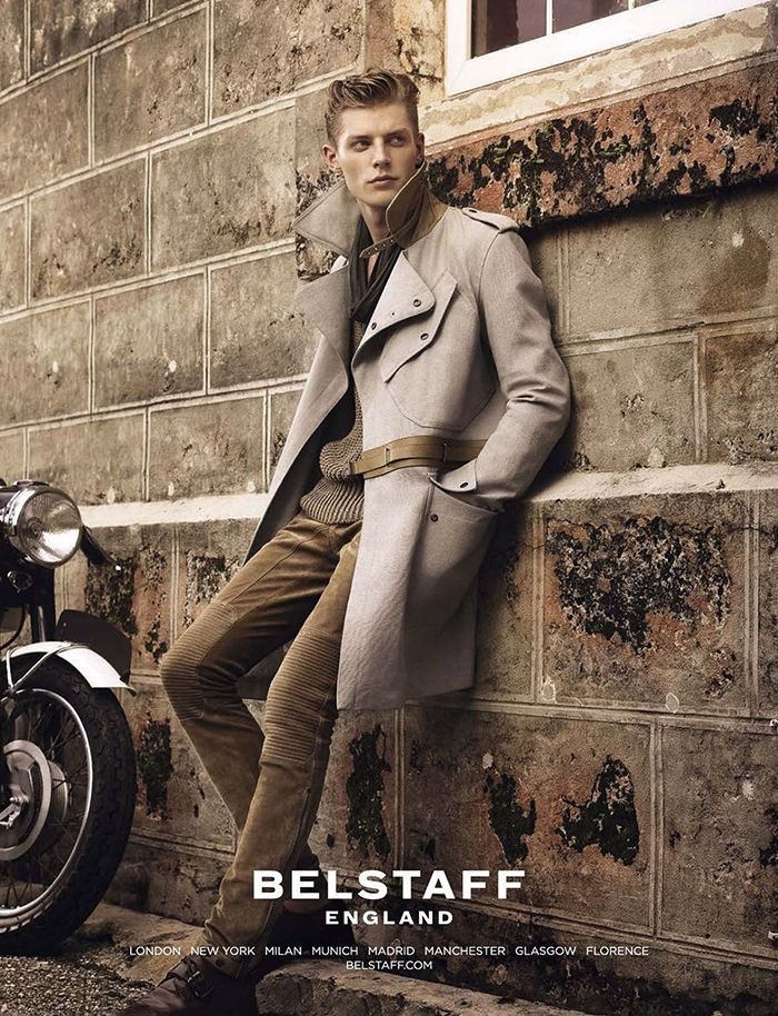 Janis Ancens - Belstaff SS 13 campaign #attitudemodels