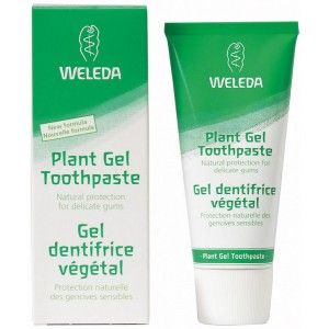 Weleda Plant Gel Toothpaste. Clean your teeth, care for sensitive gums and balance the normal functions of your mouth with this soothing tooth gel.