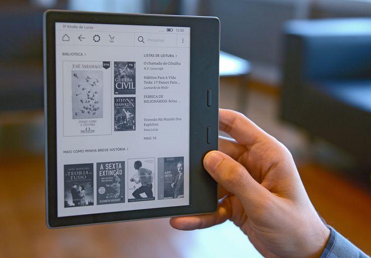 Leitor digital é o mais refinado da Amazon; veja análise