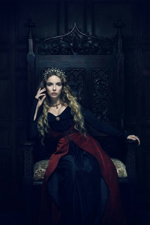 Jodie Comer as Elizabeth of York in 'The White Princess' (2017)