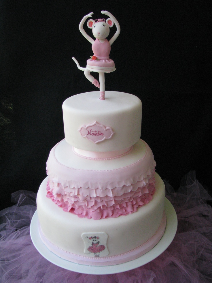 ... Angelina Ballerina Birthday cake on Pinterest  Singapore, Birthday